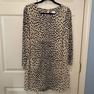 J. Crew leopard shift dress
